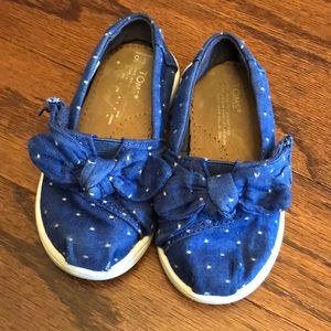 Toddler Girls Toms Sneakers